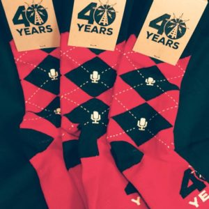Red Argyle Socks