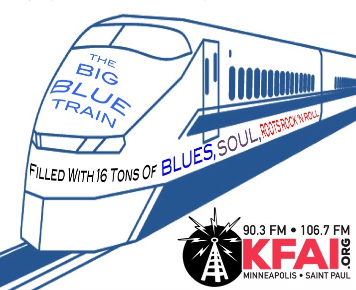 Big Blue Train Logo