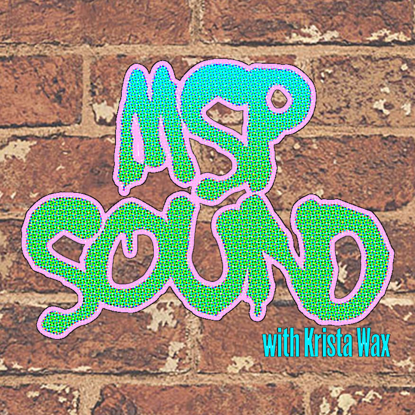 MSP Sound Logo on Brick Wall
