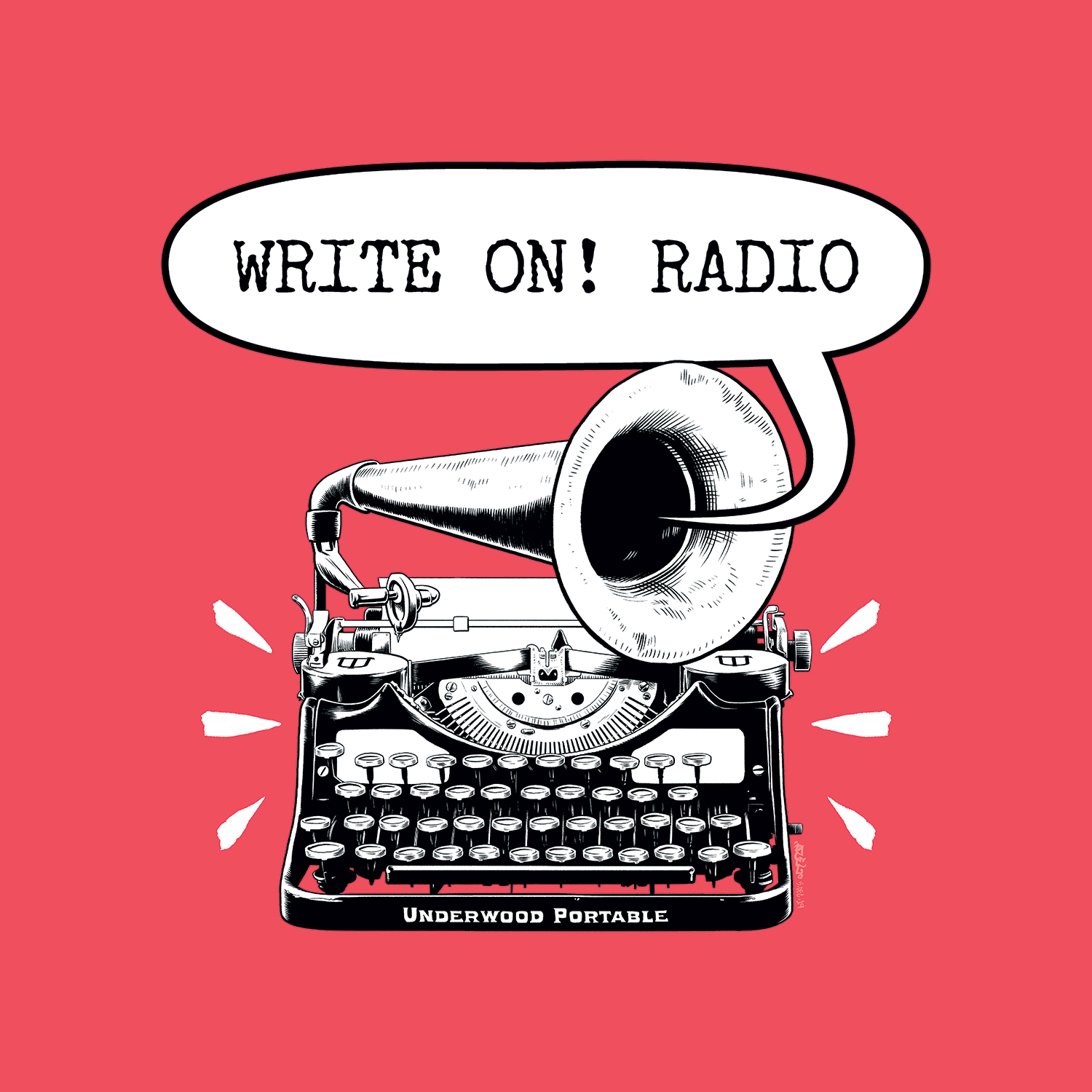 Write On! Radio – Ron Nyren + Mira Bartók