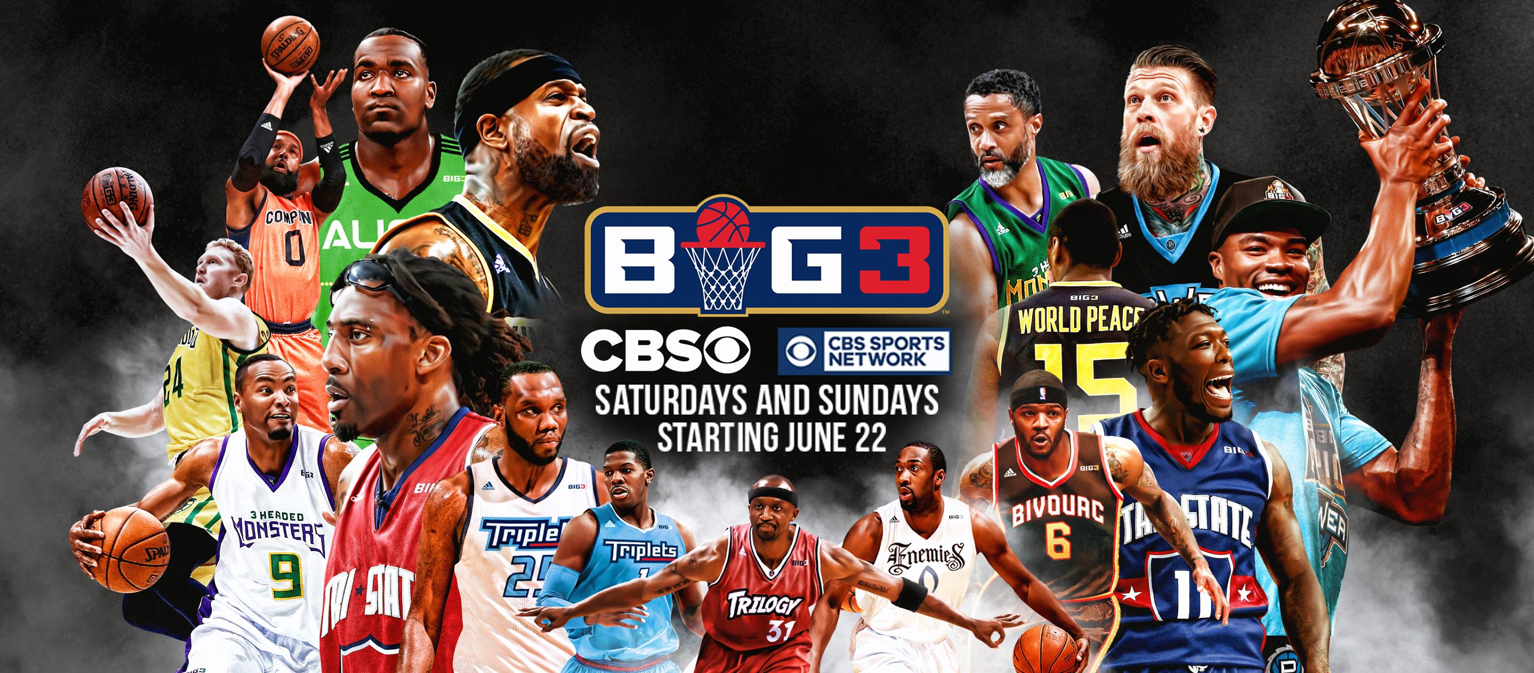 CBS Sports and Ice Cube's BIG3 Agree to Exclusive TV Deal