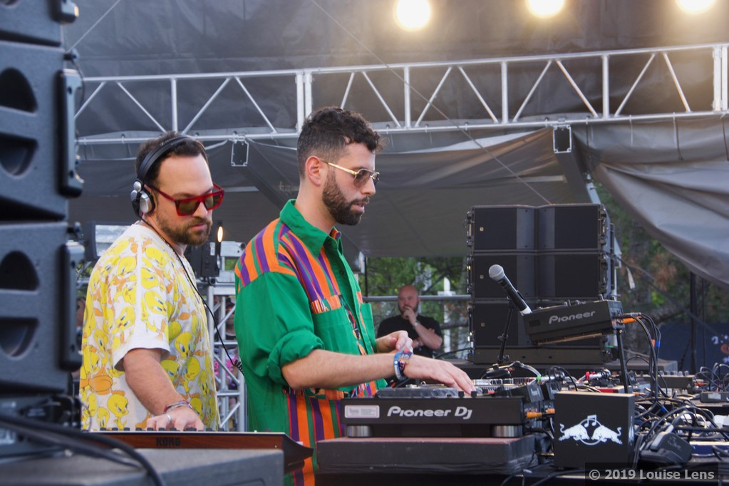 Soul Clap DJs play Red Bull Presents Stage