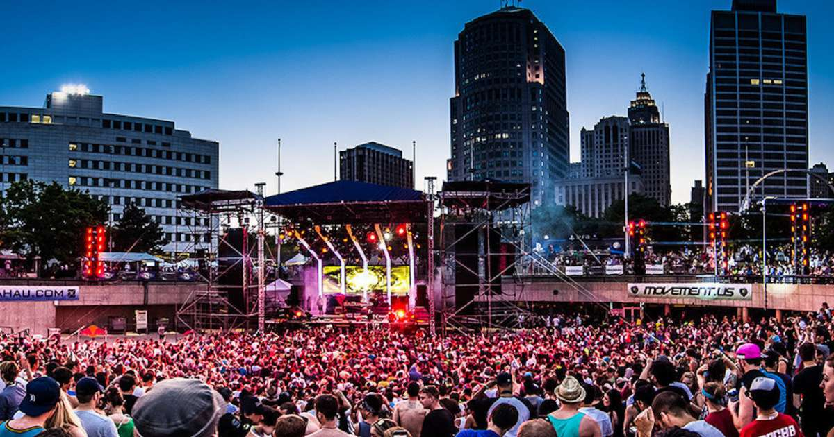 Movement Music Festival opening today in Detroit