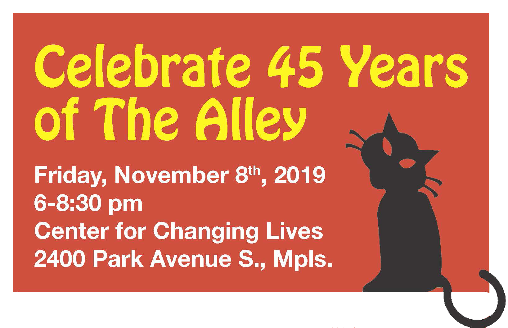 Celebrate 45 Years of The Alley