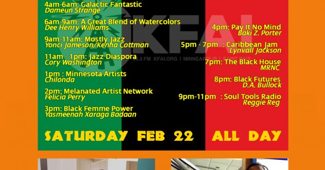 24 Hours of Black Programming on February 22, 2020