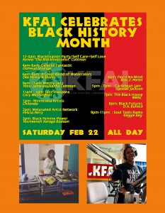 BHM 2020 24 hours of programming schedule on Feb 22, 2020