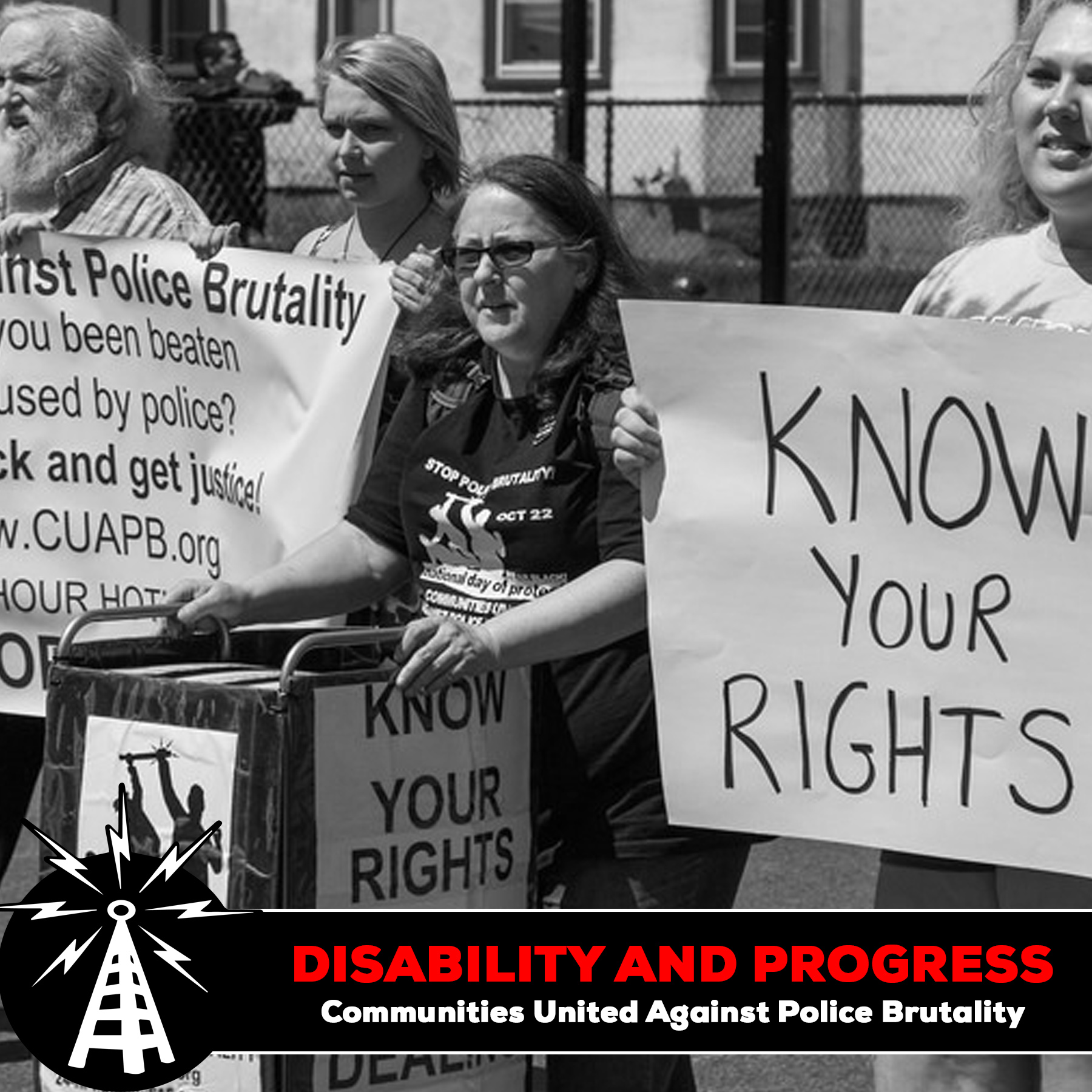 Disability and Progress – Communities United Against Police Brutality