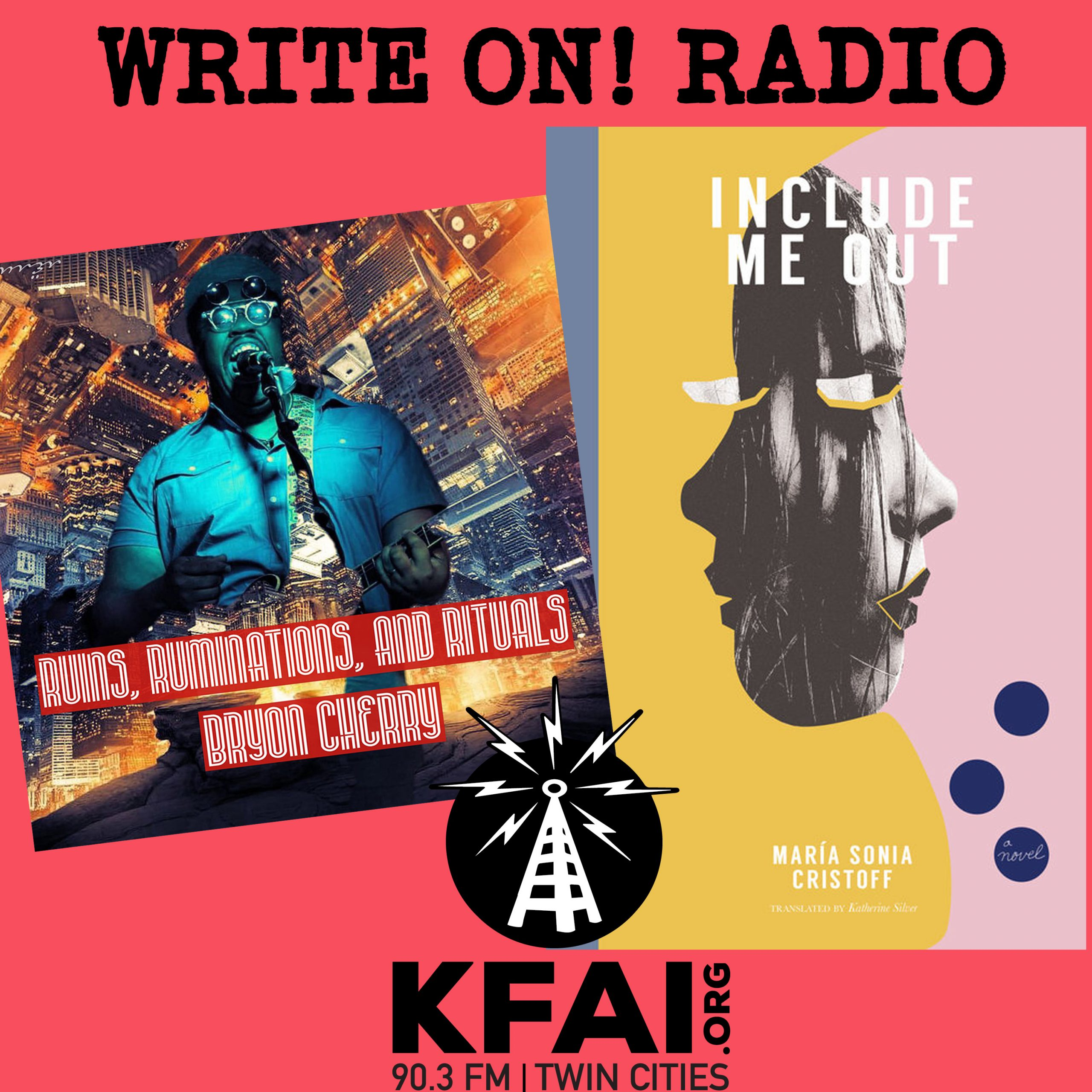 Write On! Radio – Bryon Cherry/Katherine Silver