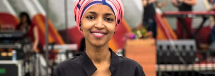 IlhanOmarHeadshot2 420x150 Ilhan Omar and Ms. Margaret – In Conversation