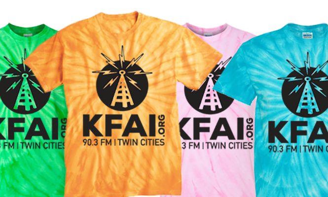 shirts 665x400  KFAI Summer Drive – A Way To Grow