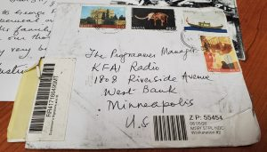 Envelope from Malta