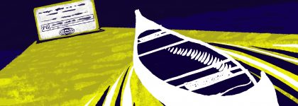 Canoe Illo 420x150 MinneCulture | BYO Boat at Float-In Theater