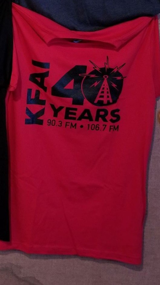 Red 40th T-Shirt
