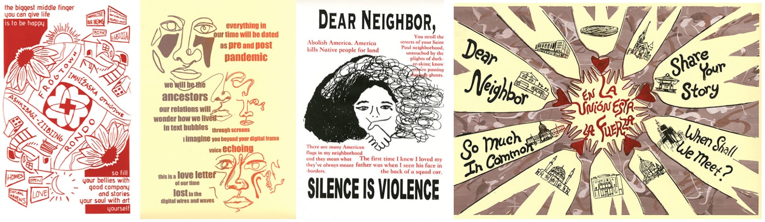 MinneCulture | 'Dear Neighbor,' This Poster Is for You