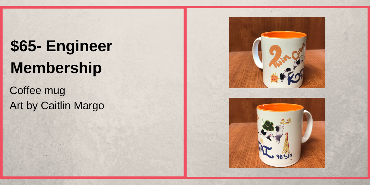 $65+ Donation- Coffee Mug