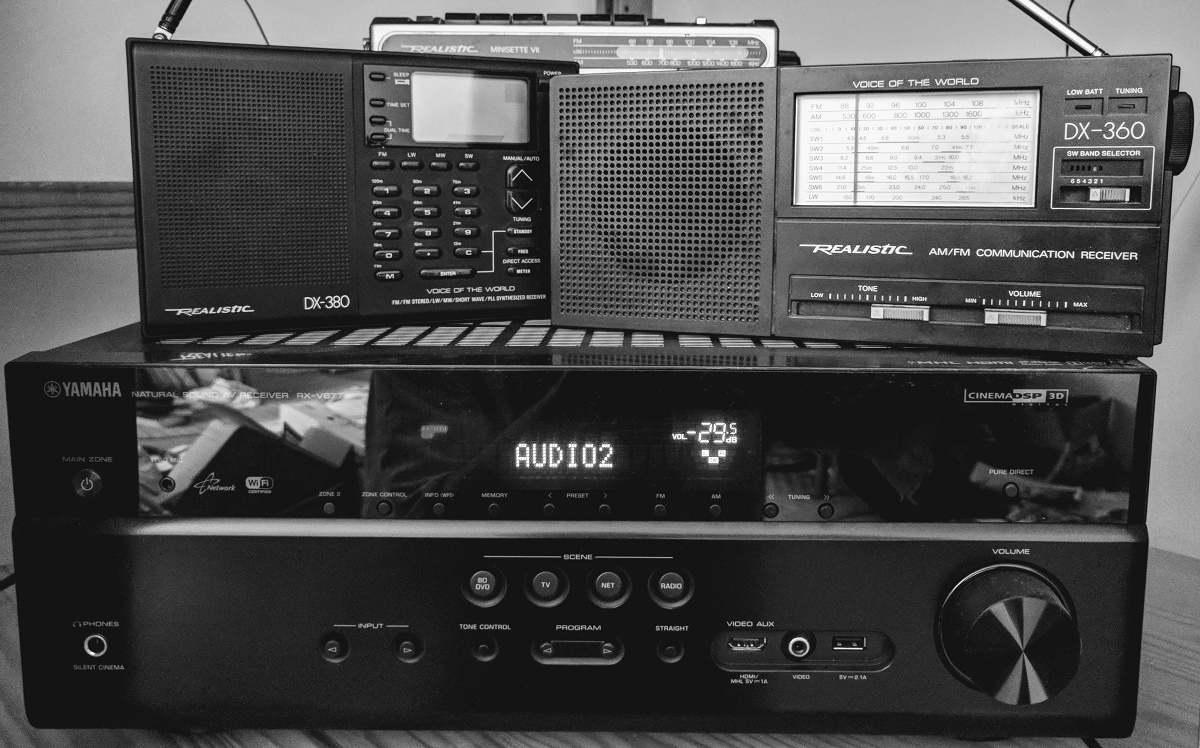 A Pile of Radios